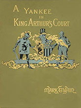 Connecticut Yankee in King Arthurs Court first edition