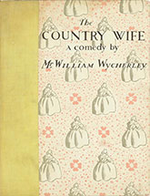 The Country Wife, 1934 edition