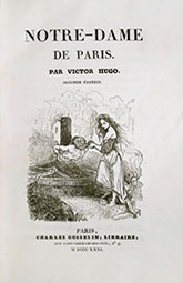 The Hunchback of Notre-Dame, frontispiece, first edition