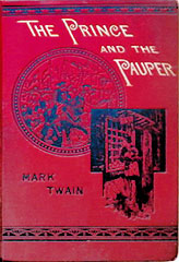 The Prince and the Pauper, first edition